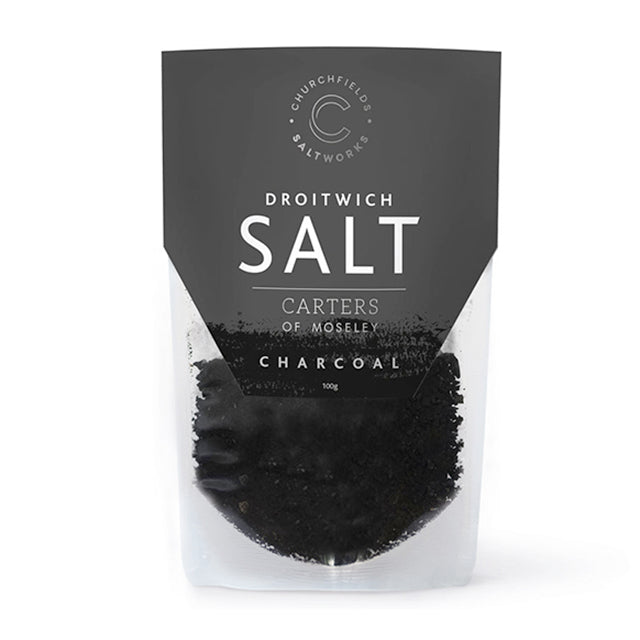 Droitwich Salts, Charcoal, 100g