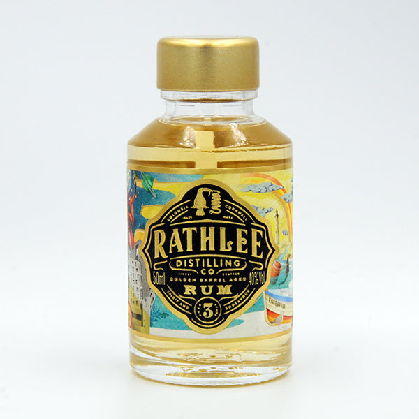 Rathlee Rum, 50ml, 40% ABV