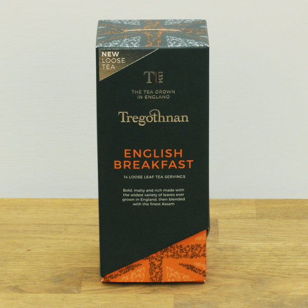 English Breakfast Loose Leaf Tea Caddy 14 Individual Servings