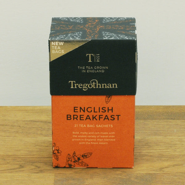 English Breakfast Tea 21 Tea Bag Sachets