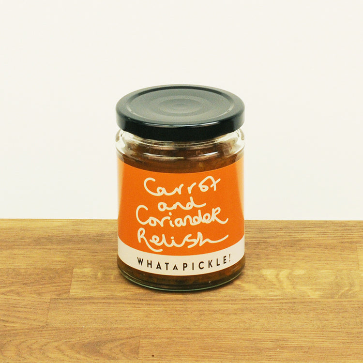 Carrot and Coriander Relish, 270g