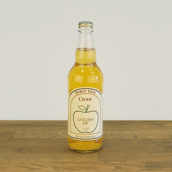 Golden Pip Cider, 5% ABV 500ml