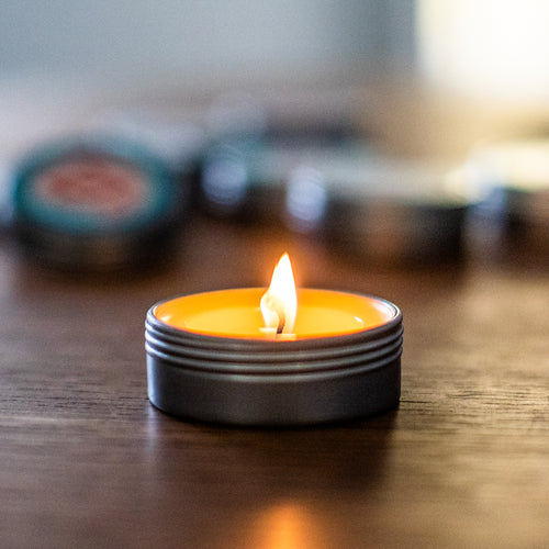 Upcycle FNGRJAM Tin Candle