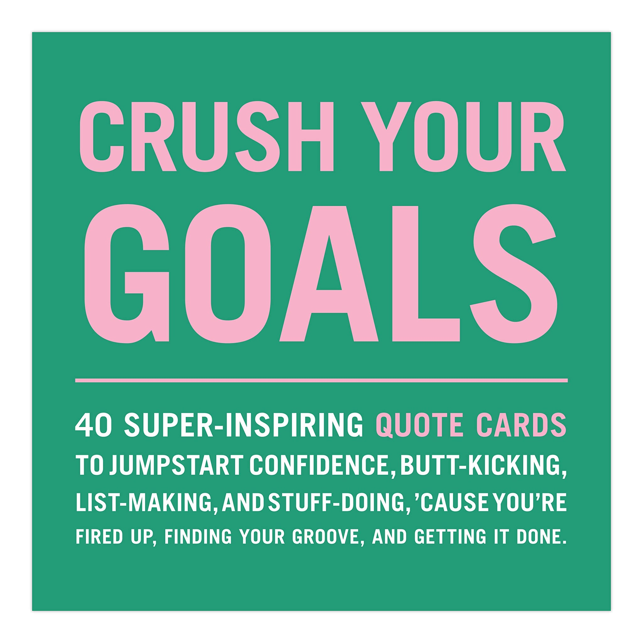 Crush Your Goals Deck - Let's Talk Coaching