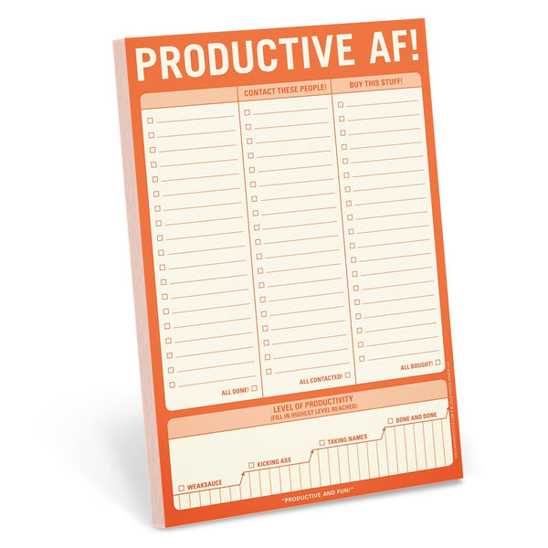 Productive AF! Pad - Let's Talk Coaching