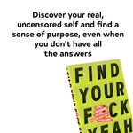 Load image into Gallery viewer, Find Your F*ckyeah Motivational Book - Let's Talk Coaching
