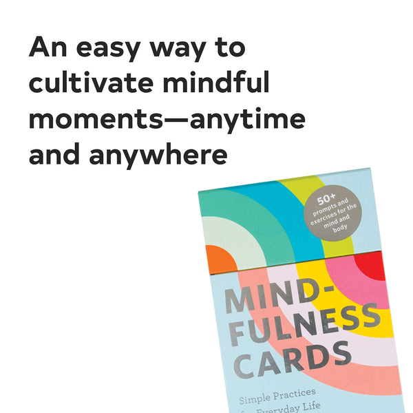 Mindfulness Cards - Let's Talk Coaching