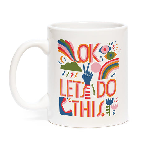 OK Let's Do This Mug - Let's Talk Coaching