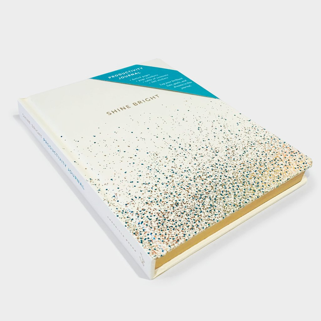 Shine Bright Productivity Journal - Let's Talk Coaching