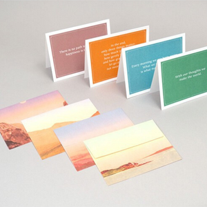 Buddha Notecards - Let's Talk Coaching