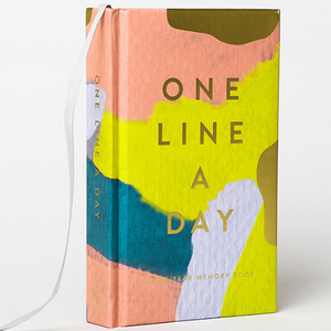 One Line a Day Memory Book - Let's Talk Coaching