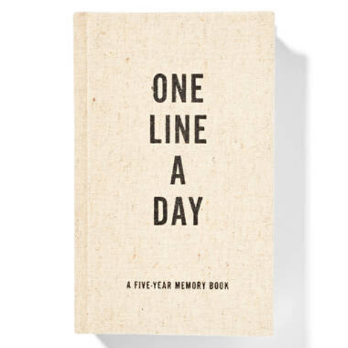 Canvas One Line a Day Memory Book - Let's Talk Coaching