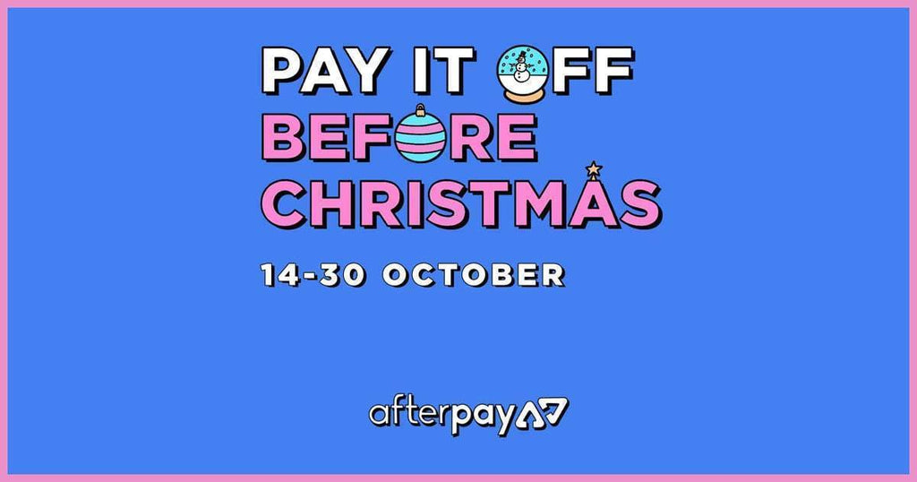 Afterpay pay it before christmas pure matcha