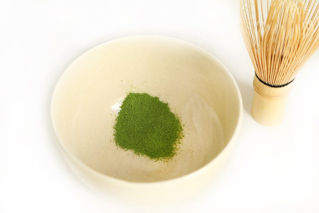 how to make matcha step 4 - sift matcha powder into bowl