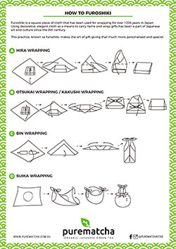 How to Furoshiki instructions
