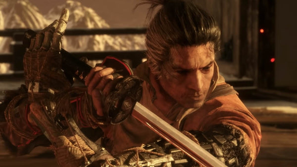 Sekiro shadows die twice wolf feature