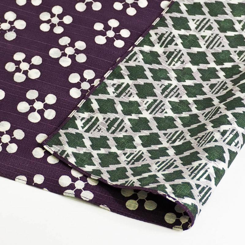 104 Fuku Musubi | Japanese Apricot/Pine and Bamboo Purple/Green