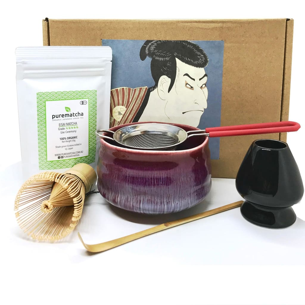 MAKOTO Japanese Matcha Tea Ceremony Set - Purematcha