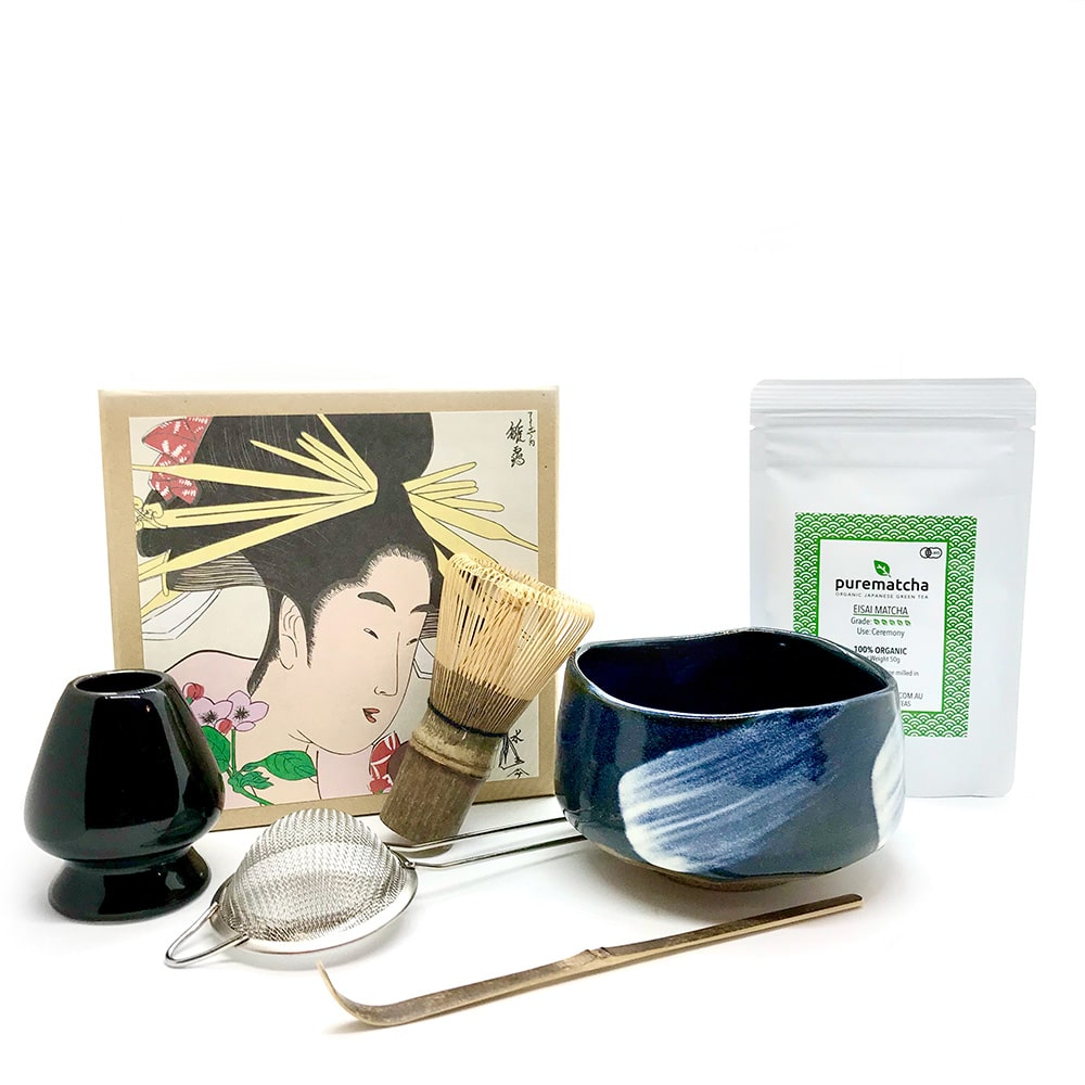 AMAYA 6 Piece Matcha Tea Set