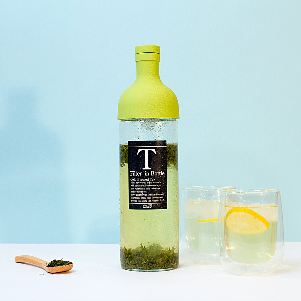 HARIO Lime Green Cold Brewed Tea Filter-in Bottle Made in Japan Purematcha Australia