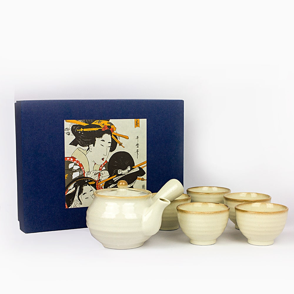 HAYAMI Japanese green tea 6 piece tea set made in Japan