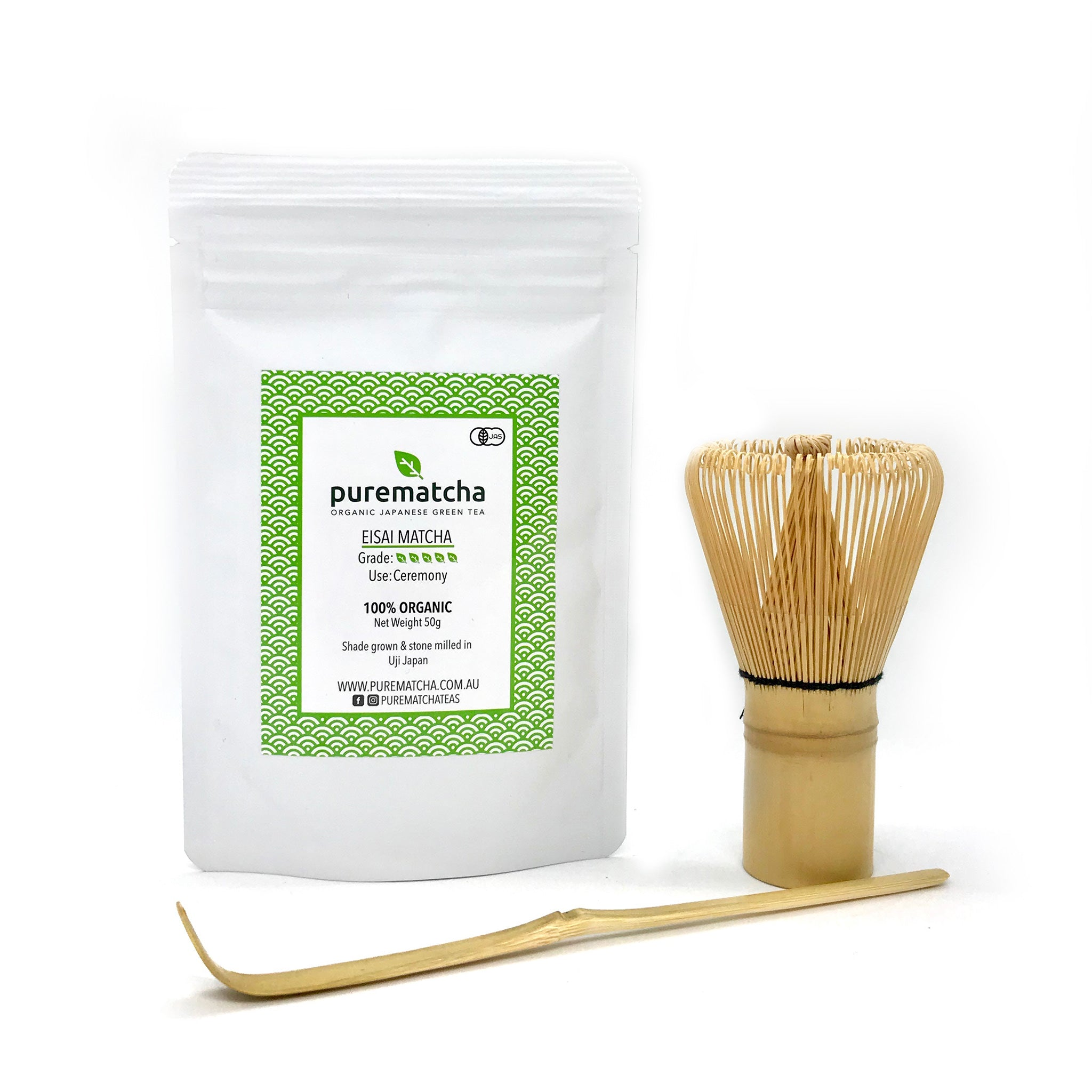 Bamboo Matcha Tea Set