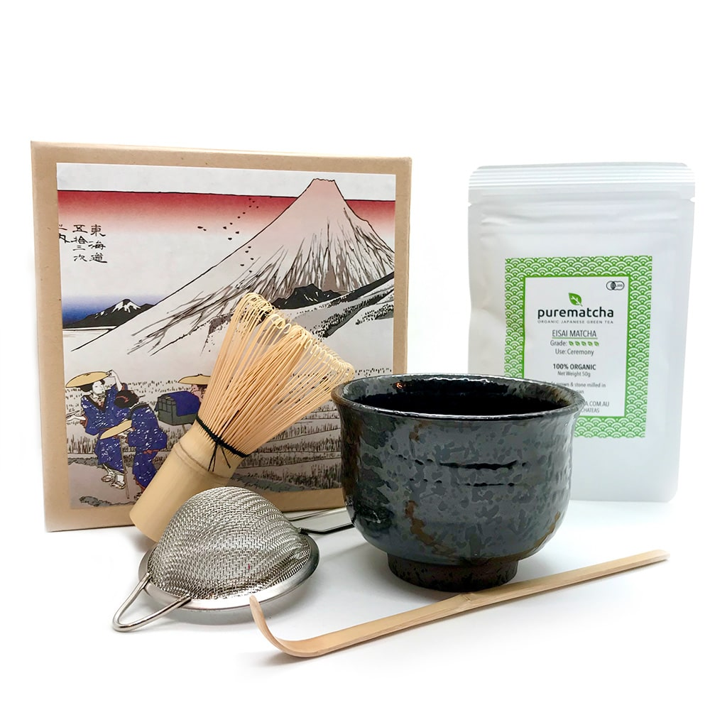 SYARAKU Matcha Tea Set Starter Kit