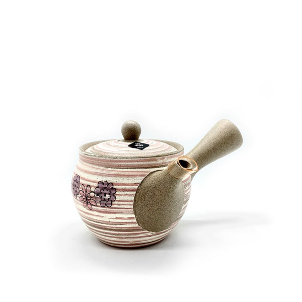 TOKONAME KOSUMOSU Kyusu Brush Painting Japanese Tea Pot