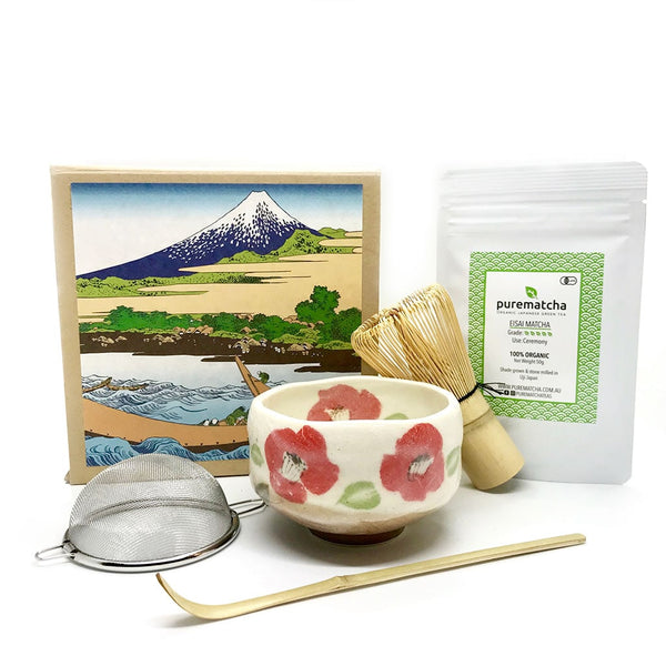 AKINA Japanese Matcha Tea Set Gift for Tea Ceremony