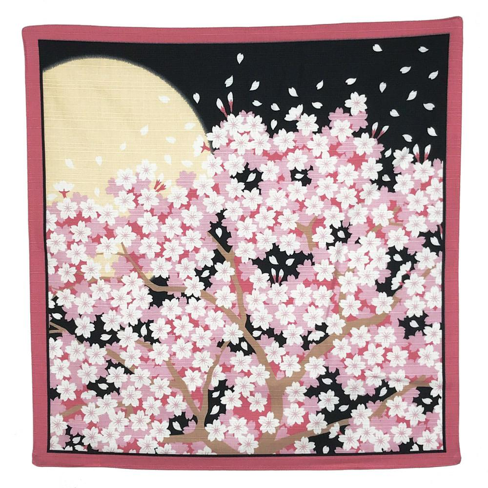 SAKURA Furoshiki Japanese Wrapping Cloth cherry blossom design
