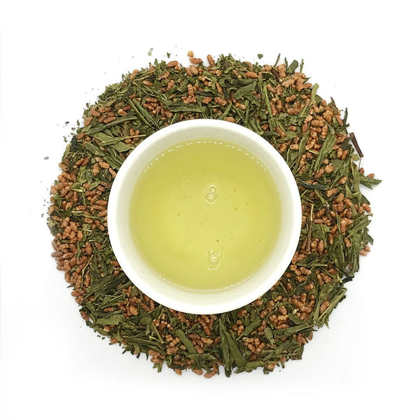 organic genmaicha green tea japan loose leaf tea australia liquor colour