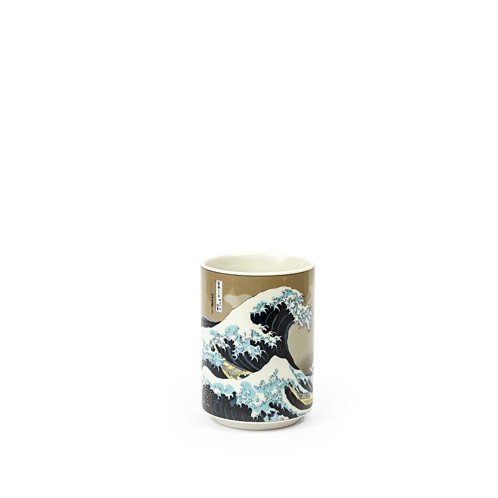 Great Wave Off Kanagawa Porcelain Japanese Teacup