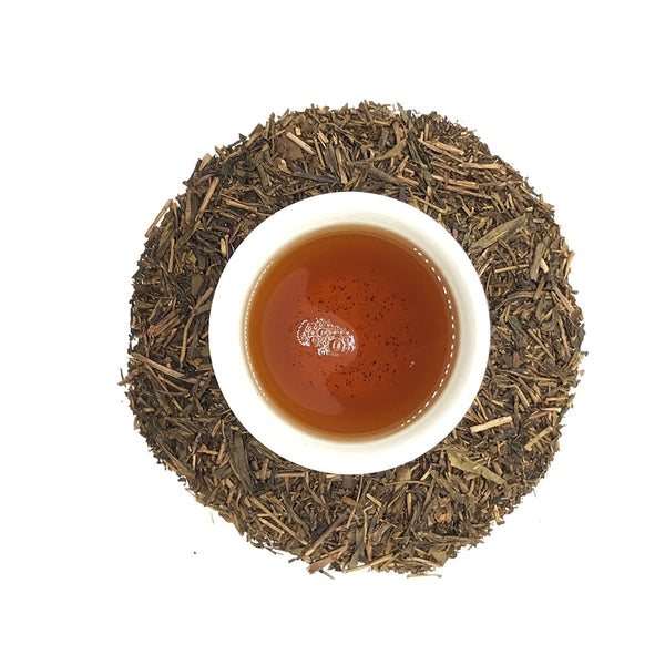 100g ORGANIC HOUJICHA Roasted Green Tea