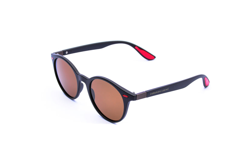 Eros Round Polarized Sunglasses