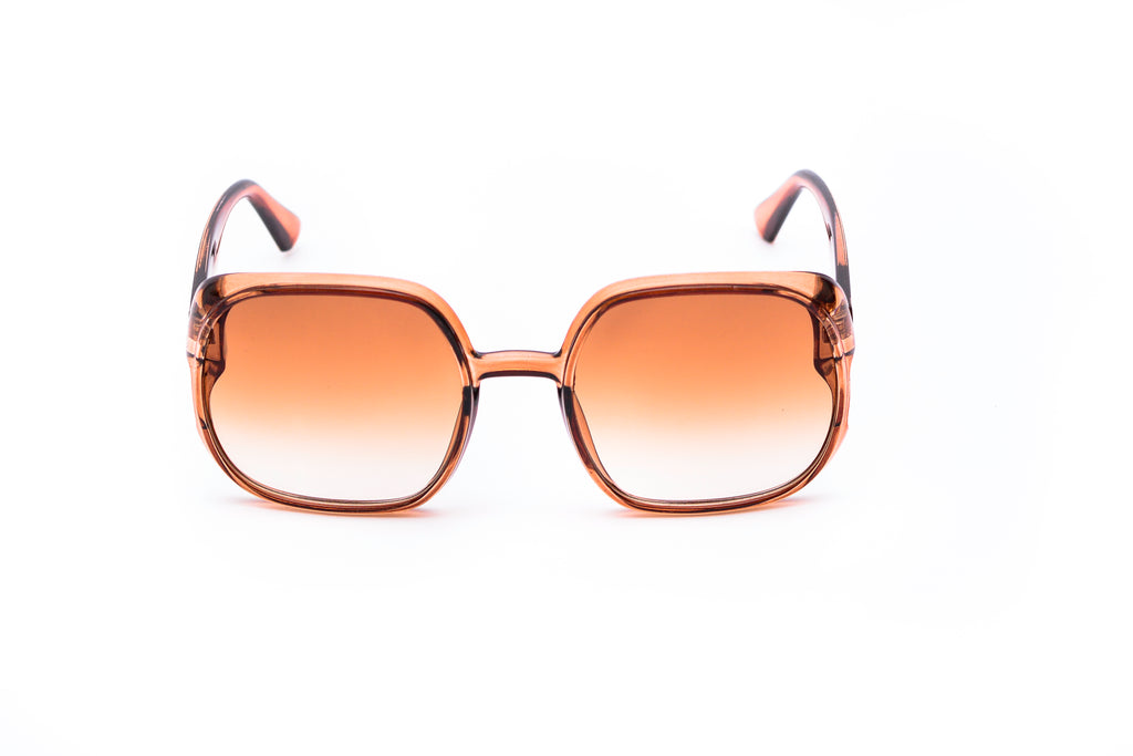 Euporie Golden Square Sunglasses - Lorenzo Leone