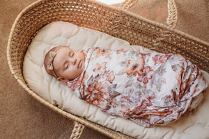 The Mini Scout Sunset Swaddle