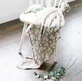 Daisy Sage Green Swaddle