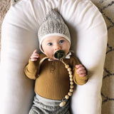 Pacifier Wood Clip - Kate