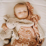 The Mini Scout Daisy Pink Swaddle