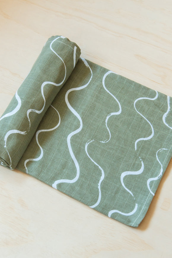 Ocean Swaddle (pre-order will ship out in August)