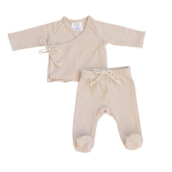 Oat Cotton Layette Set