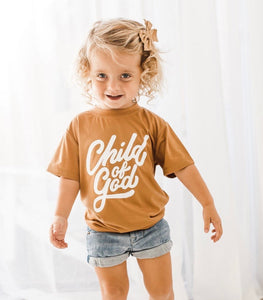 Child of God Camel Shirt