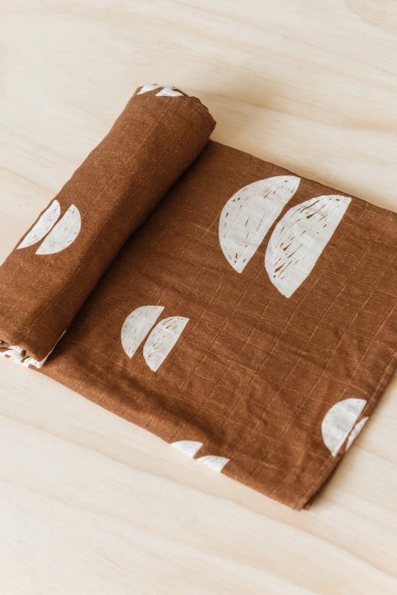 Umber swaddle ( PREORDER will be mailed out around AUGUST 15)