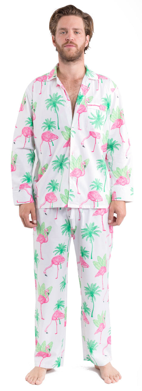 Men's Flamingo PJ Pants