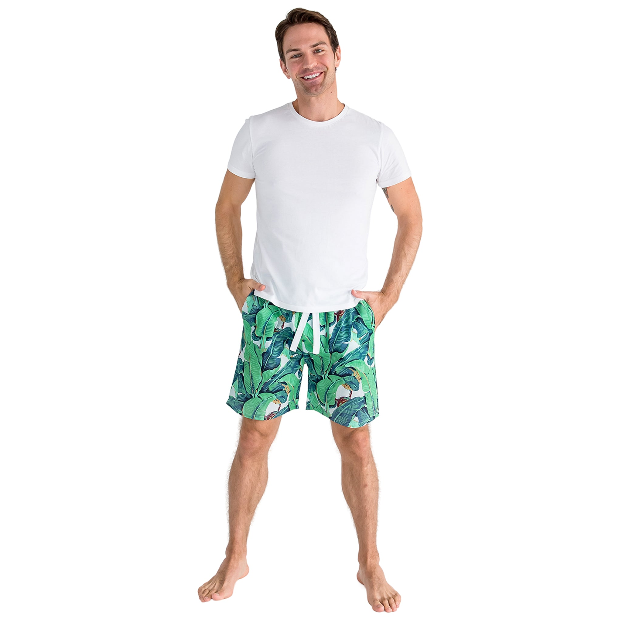 Men's Martinique® Banana Leaf Sleep Shorts