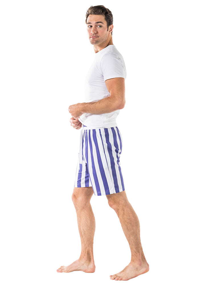 Men's Braddock Navy Sleep Shorts
