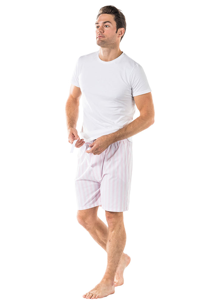 Men's Braddock Pink Sleep Shorts