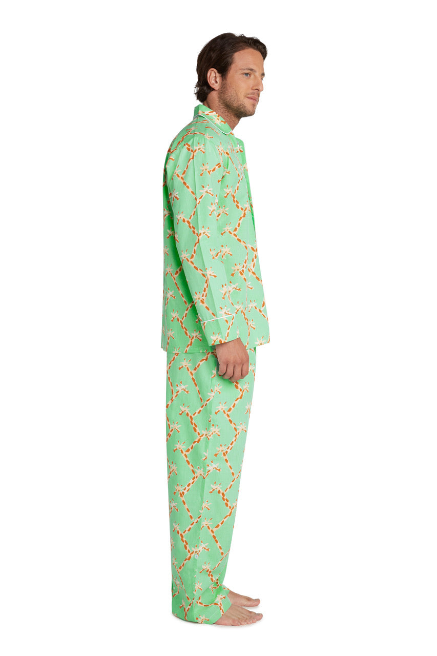 Men's Giraffe PJ Set