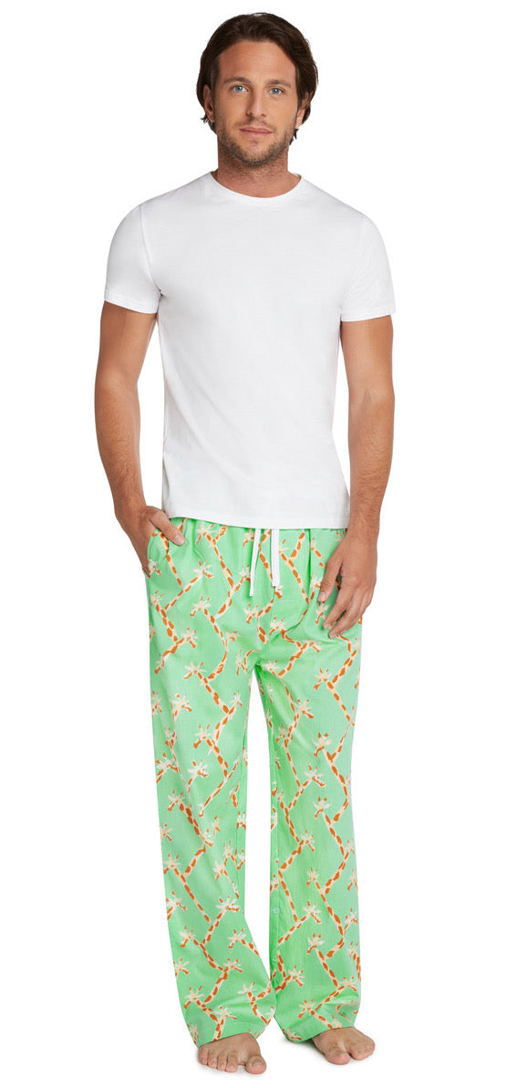 Men's Giraffe PJ Pants