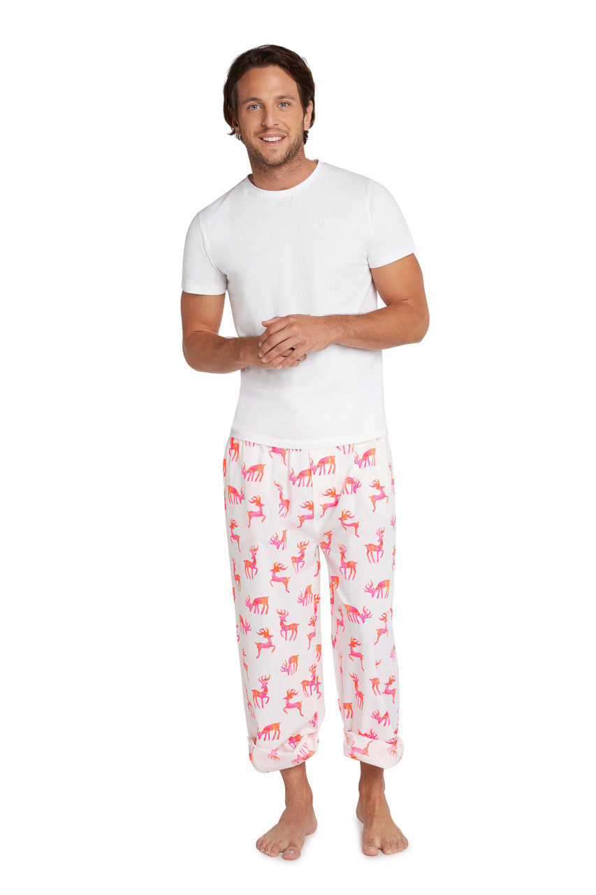Men's Reindeer PJ Pants